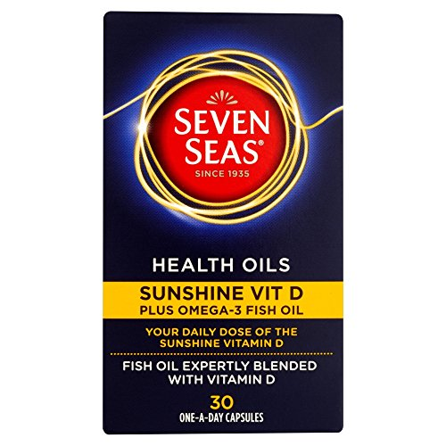 Seven Seas Health Oils Sunshine Vitamin D - 30 Capsules