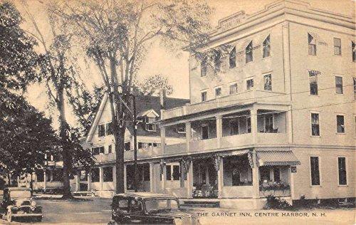 Garnet Center - Centre Harbor New Hampshire Garnet Inn Street View Antique Postcard K63653
