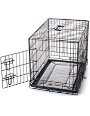 K&H Pet Products Mother's Heartbeat Puppy Crate Pad Gray Fleece Small Breed Beat 14 X 22 Inches