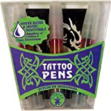 Tattoo Pens with Stencil