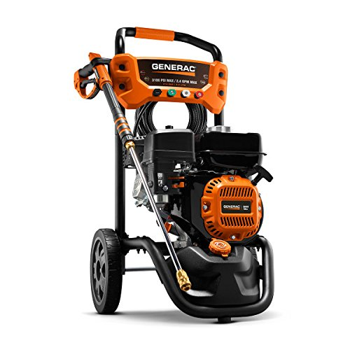 Generac 6923 3,100 PSI, 2.4 GPM, Gas Powered Pressure Washer image