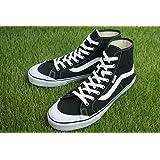 [ザ マテリアル ワールド] 【新入荷】VANS ヴァンズ バンズBLACK BALL HI SFブラックボールハイSFBLACK(ブラック)メンズ 靴 スニーカー 黒 ガムソール ハイカット スケート 白 WHITE