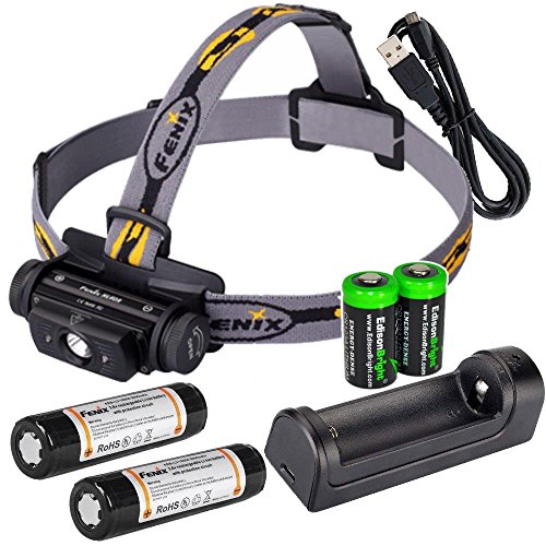 rechargeable Headlamp batteries charger EdisonBright