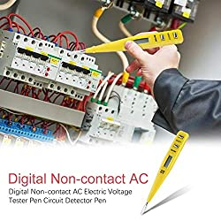 Digital Non-contact Socket Wall AC/DC Electric Voltage Meter Pen Circuit Detector Induction Voltage Tester Pen
