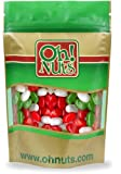 Red, Green, White, Christmas Jelly Belly 1 LB Bag - Oh! Nuts