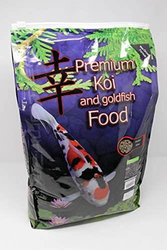 Blackwater Premium Koi and Goldfish Food Max Growth 12.8lb (Medium (4.8mm)) (Best Food For Goldfish Growth)