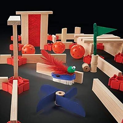 KEVA Maker Bot Maze: Toys & Games