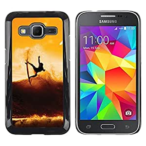 Impact Case Cover with Art Pattern Designs FOR Samsung Galaxy Core Prime Sunset Surf Surfer Cool Wave Betty shop