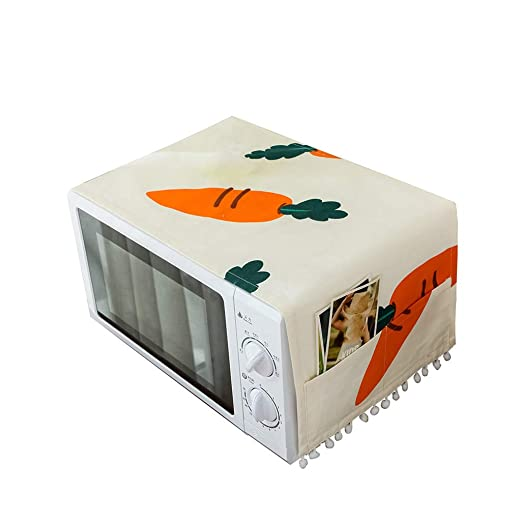 WEILYDF - Funda para Horno de microondas (diseño de Zanahoria ...