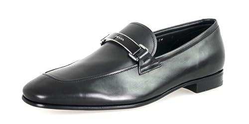 Prada - Mocasines para hombre, color negro, talla 43 EU: Amazon.es: Zapatos y complementos