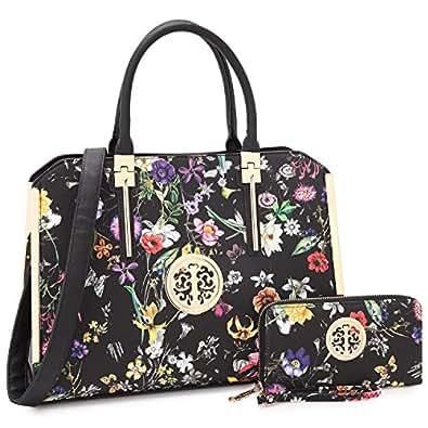 030866fde1 Image Unavailable. Image not available for. Color  Dasein Women Large  Designer Handbags Satchel Purses ...