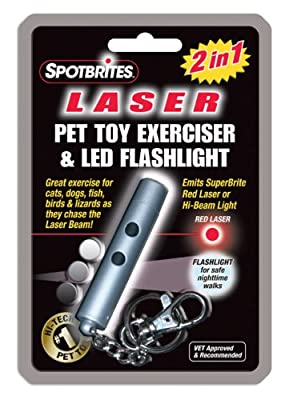 2in1 Laser Pet Toy Exerciser from Ethical Pets