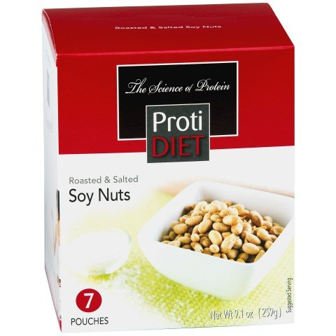 ProtiDiet Roasted & Salted Soy Nuts by Protidiet