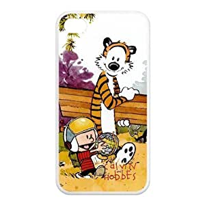 Case for iPhone 4s,Cover for iPhone 4s,Case for iPhone 4,Hard Case for iPhone 4s,Calvin and Hobbes Design TPU Hard Case for Apple iPhone 4 4S