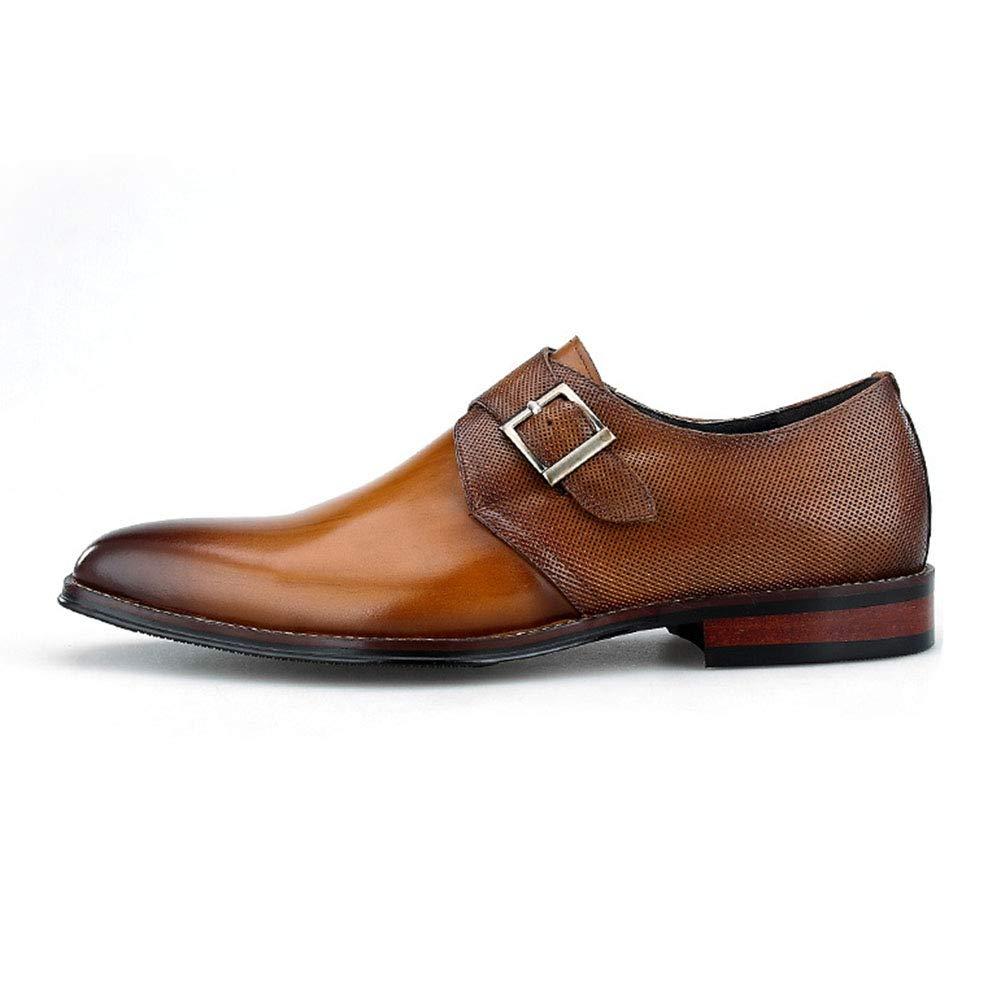 Männer Formelle Kleidung Business-Schuhe Einzelnes Mönchband Schnalle  Loafer Lederschuhe Alltagskleidung Modern Bequem Oxford Schuhe  Alltagskleidung ... 171fe461f7