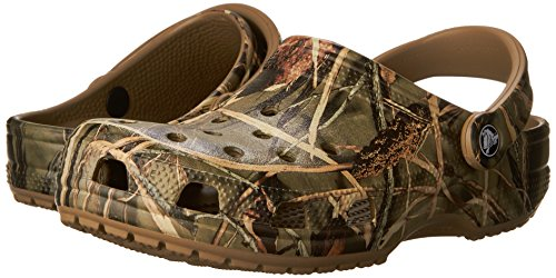 Pictures of Crocs Men's and Women's Classic Realtree Clog  | Comfort Slip On Camo Casual Shoe | Lightweight 4