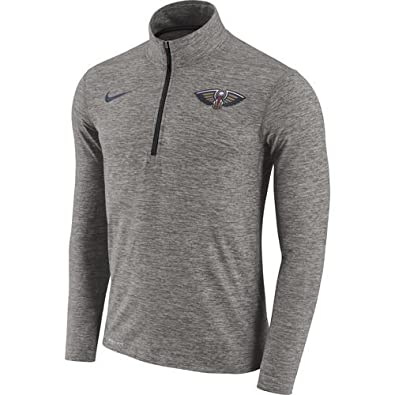 incredible prices vast selection top quality Amazon.com: Nike New Orleans Pelicans Element Dry 1/2 Zip ...