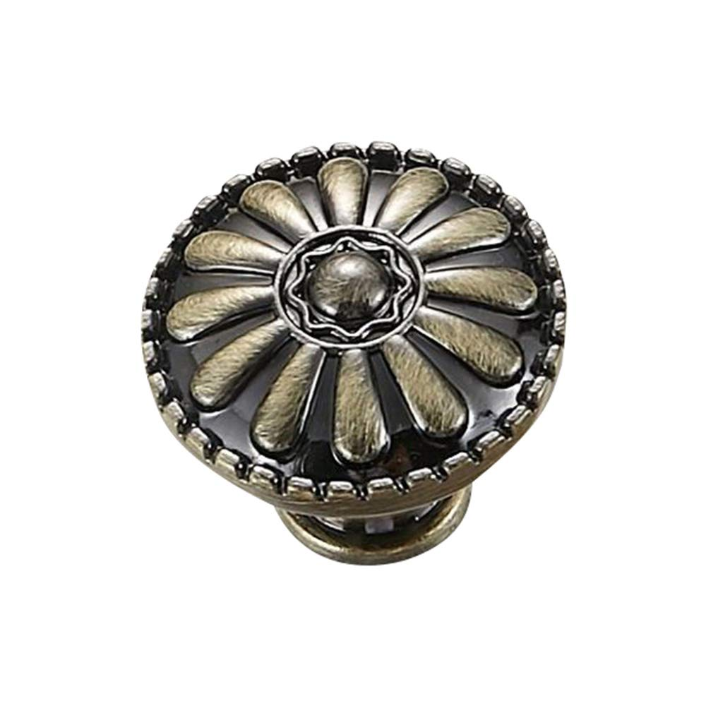 Leepesx Pull da Armadio Vintage Bronzo Antico Rame Maniglia per Porta Armadio Maniglie e manopole per cassetti da Bagno 5 Pollici 3,8 Pollici Centro Foro Singolo 7,6 Pollici