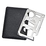 11-Tools-in-1 Stainless Steel Stainless Steel Credit Card Pocket Sized Survival Multi tool Review