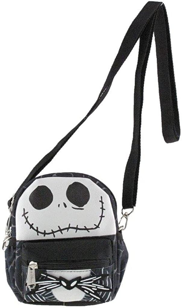 "Nightmare Before Christmas Jack 8/"" Small 2-in-1 Cross-body bag// Mini Backpack"