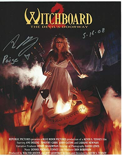 Ami Dolenz Signed Withboard The Devils Doorway 8x10 Photo - Autographed NHL Photos