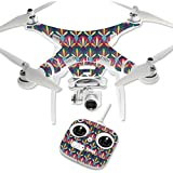 MightySkins Protective Vinyl Skin Decal for DJI Phantom 3 Standard Quadcopter Drone wrap cover sticker skins Bold Tile