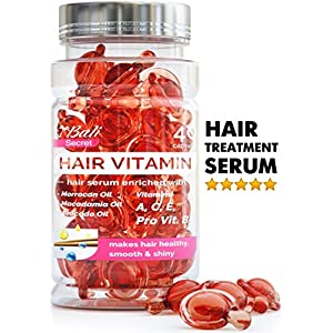 Hair Serum – Hair Treatment – Argan Macadamia Avocado Oil – Human Hair Vitamins – Hair Silk Effect – Best Hair Serum – Hair Treatment for Damaged Hair – Hair Oil for Women – Silk Hair – Moroccan Oil