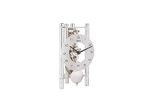 Hermle 23025X40721 Lakin - Reloj de Mesa Triangular, Esfera de ...