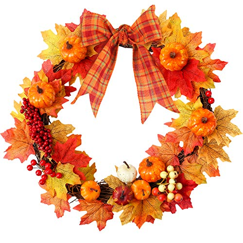 Inexpensive Autumn Wreath