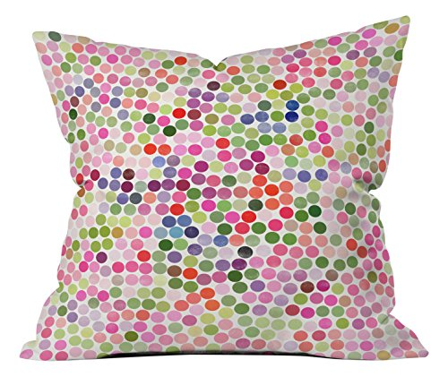 Deny Designs Garima Dhawan Dance 4 Throw pillow, 16 X 16 by Deny Designs