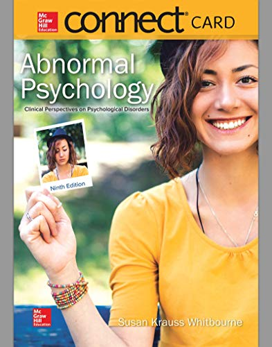 Connect Access Card for Abnormal Psychology: Clinical Perspectives on Psychological Disorders