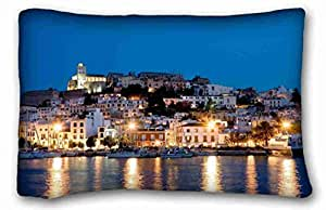 """Custom Characteristic City DIY Pillow Cover Size 20""""X30"""" suitable for Twin-bed"""