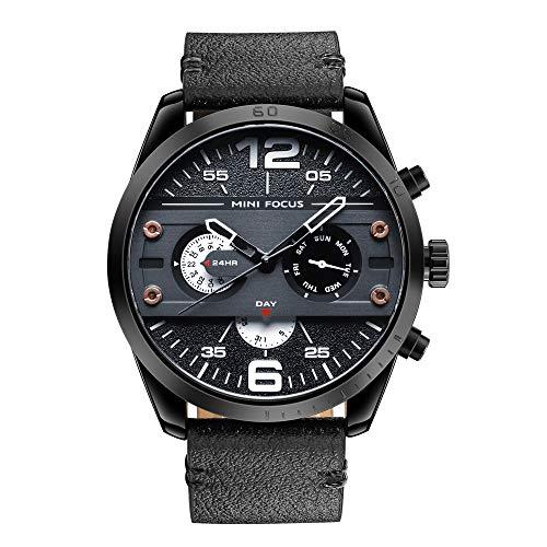 Genuine Quartz Leather - Men Casual Sport Genuine Leather Wrist Watch Men Classic Business Waterproof Watch …