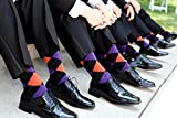 USBingoshopTM Mens Cotton Dress Socks (12 Pack)