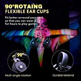 BENGOO 2.4G Wireless Gaming Headset Headphones with