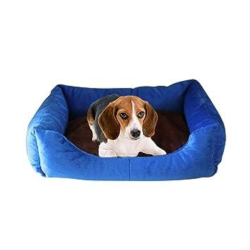 Augproveshak - Cama Redonda para Perro, de algodón, para Mascotas, Color marrón, 43 x 33 cm, para Cachorro, Perros pequeños: Amazon.es: Productos para ...