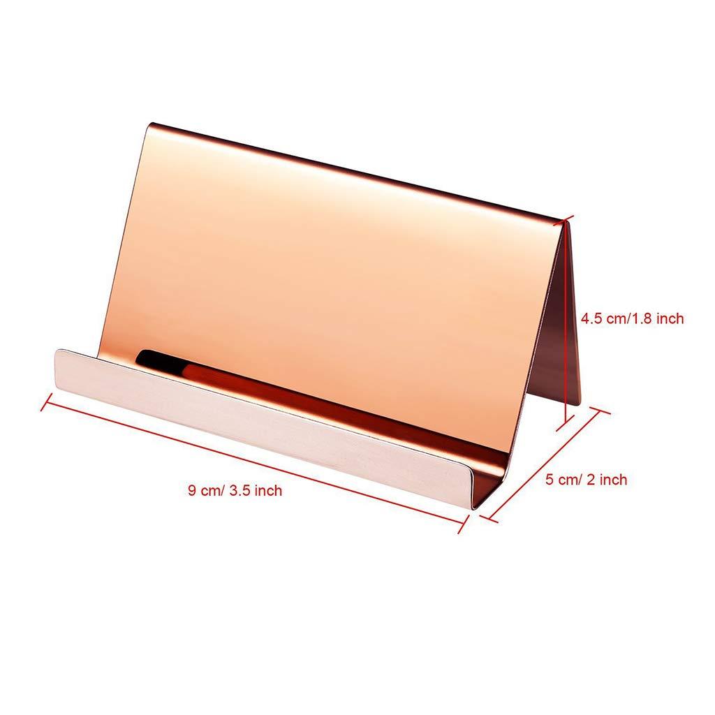 2 Farben Sgd Vivitoch Hochwertiger Visitenkartenhalter aus Edelstahl