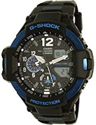 Casio G-Shock Black Dial Resin Quartz Mens Watch GA1100-2B