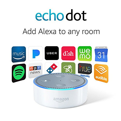 Echo Dot 2nd creation White Black Friday Cyber Monday 2015