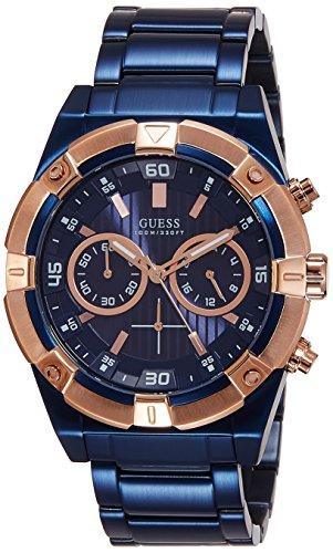 Guess  W0377G4 – Reloj de lujo para hombre, color azul