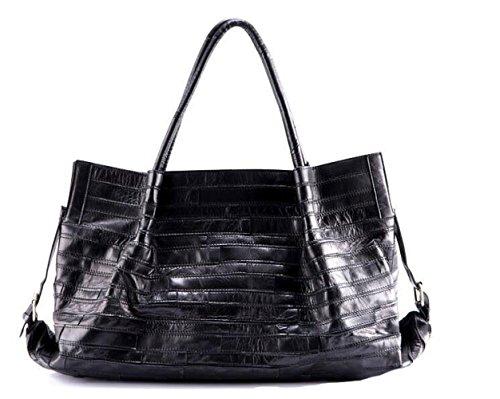 Stitching Bolso De De Cuero Bolsa Bag De JPFCAK Señora Messenger Cuero B Bolsa Capacidad Hombro Gran O8gwEqnE