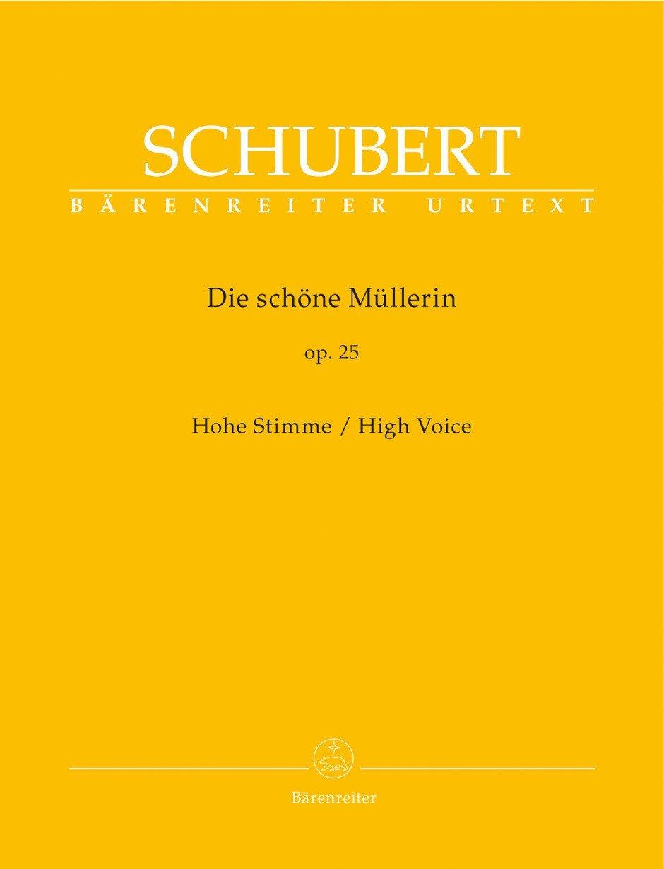 Download Schubert: Die schöne Müllerin, D 795, Op. 25 [High Voice] pdf epub