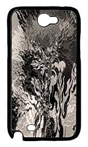 Abstract Monochrome Design Hard Case for Samsung Galaxy NOTE 2 N7100 -1126083 WANGJING JINDA