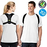 Posture Corrector for Men & Women,Adjustable Posture Support,Shoulder and Clavicle Support Devices,Improve Bad Posture and Relieve Neck & Back & Shoulder Pain (REG 28''-42'')