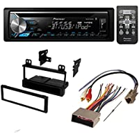 AFTERMARKET CAR STEREO RECEIVER RADIO KIT DASH INSTALLATION MOUNTING TRIM BEZEL WITH WIRING HARNESS FOR SELECT FORD LINCOLN MERCURY VEHICLES