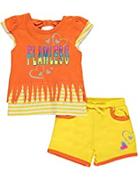 "Real Love Baby Girls' ""Flawless Fringe"" 2-Piece Outfit"