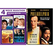 HEARTBREAK COLLECTION: Extra Tissues Needed: Eternal Sunshine on the Spotless Mind/ The Story of Us/ What Dreams May Come/ Meet Joe Black/ Philadelphia 5 DVD Bundle