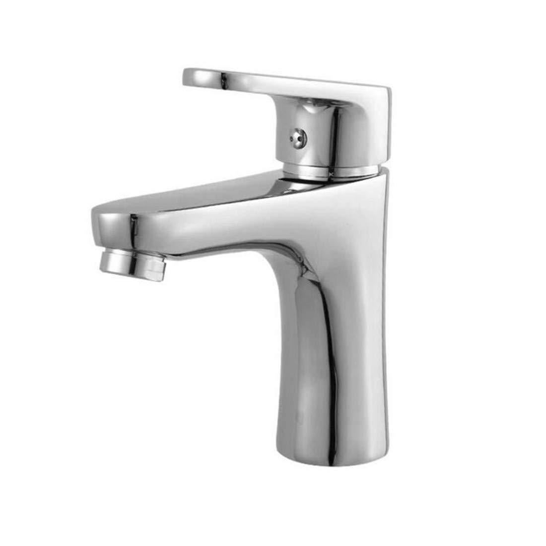 Kitchen Bath Basin Sink Bathroom Taps Kitchen Sink Taps Bathroom Taps Single Hole Basin Hot and Cold Water Faucet Ctzl0824