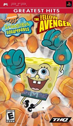 Spongebob Squarepants The Yellow Avenger - Sony PSP by THQ