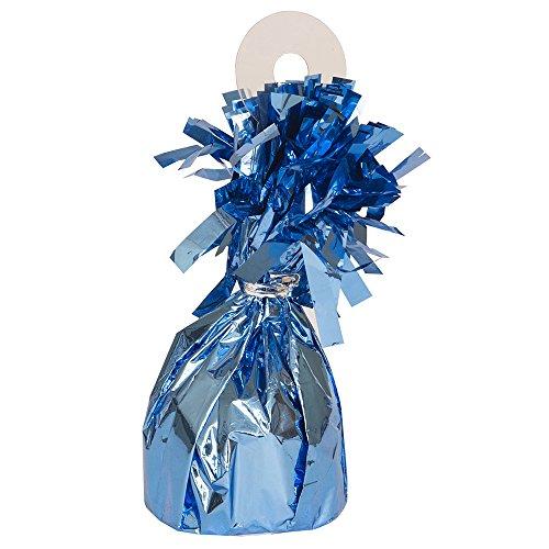 Foil Light Blue Balloon Weight (Light Blue Balloon Weights)